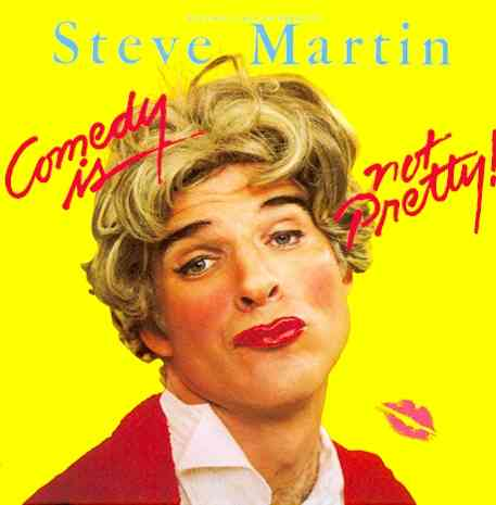 COMEDY IS NOT PRETTY BY MARTIN,STEVE (CD)