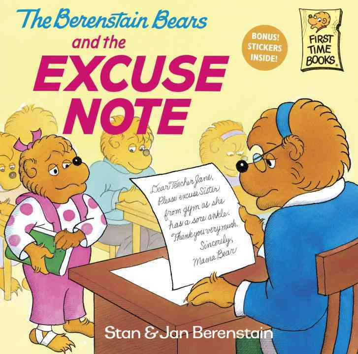 The Berenstain Bears and the Excuse Note By Berenstain, Stan/ Berenstain, Jan