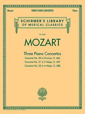 Wolfgang Amadeus Mozart Three Piano Concertos By Mozart, Wolfgang Amadeus (COP)